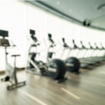 AV equipment for fitness centers