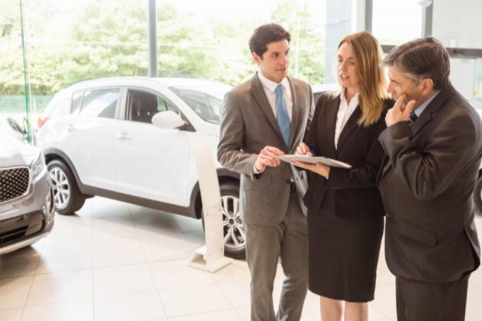 Predatory car salespeople